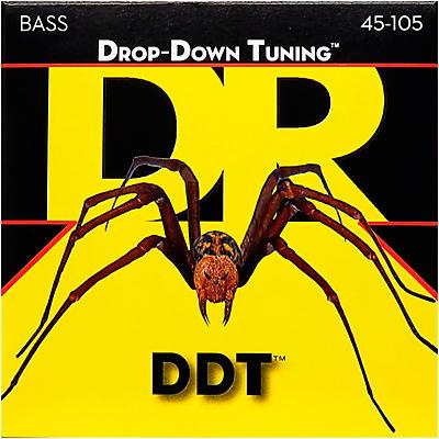 DR Strings Drop-Down Tuning Medium Bass Strings