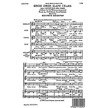 Novello Drop, Drop, Slow Tears SATB Composed by Kenneth Leighton