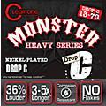 Cleartone Drop Tune Electric Guitar Strings Drop C (13-70) NPS thumbnail