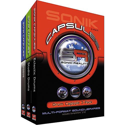 Sonik Capsules Drum Capsule 3-Pack