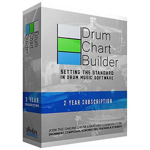 Drum Chart Builder 2 Year Subscription