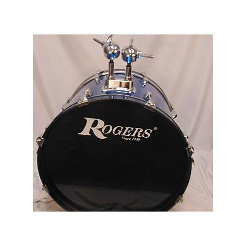 Rogers Drum Kit Drum Kit Blue