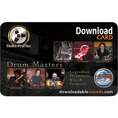 Sonic Reality Drum Masters 2 Artist Packs (DL Only)