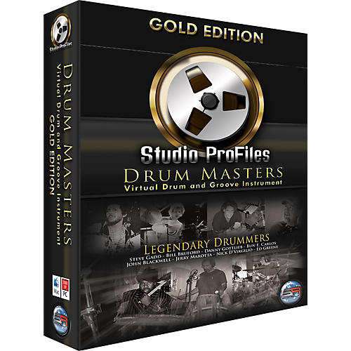 Sonic Reality Drum Masters Gold Edition Software