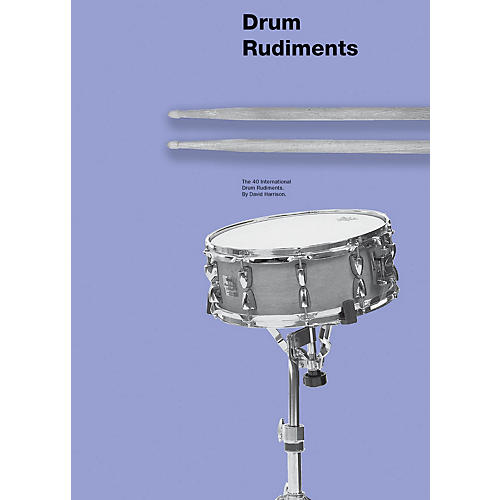 Music Sales Drum Rudiments Drum Instruction Series Softcover Written by David Harrison