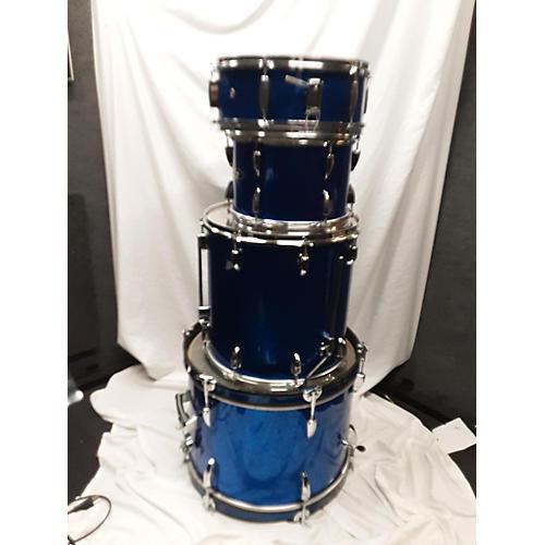 Stewart Drum Set Drum Kit Blue