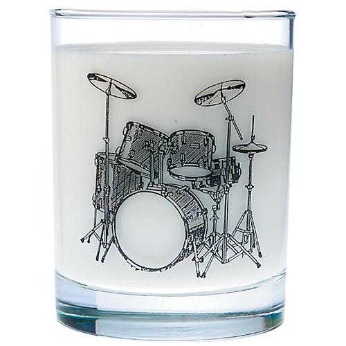 AIM Drum Set Glass Tumbler