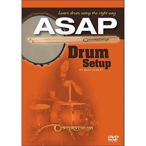 Centerstream Publishing Drum Setup ASAP: Learn Drum Setup The Right Way DVD