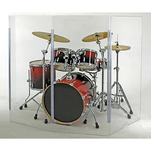 Cal-Mil Drum Shield 4-Piece 4' x 2'