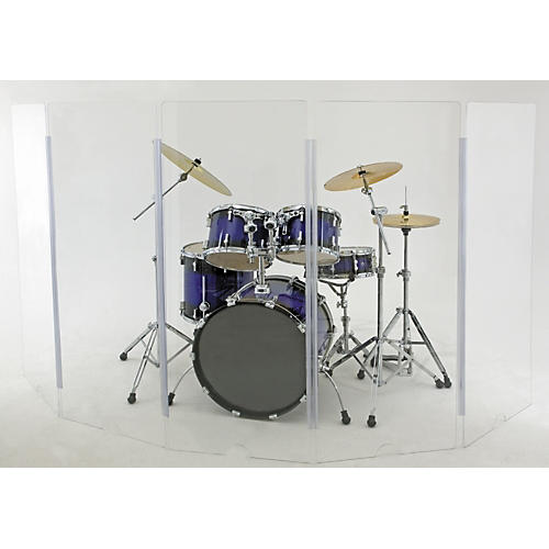 Cal-Mil Drum Shield 5-Piece 5' x 2'
