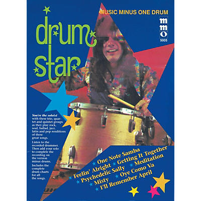 Music Minus One Drum Star Music Minus One Series Softcover with CD