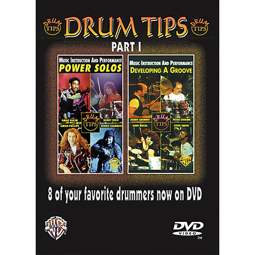 Alfred Drum Tips Part I - Power Solos/Developing a Groove DVD