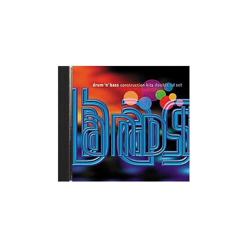 EastWest Drum 'n' Bass Construction Kits 2 Audio CD Set