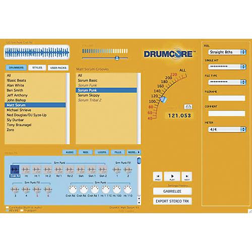 Submersible Music DrumCore Deluxe