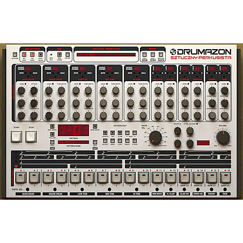 D16 Group Drumazon TR909 Emulation Software (VST/AU)