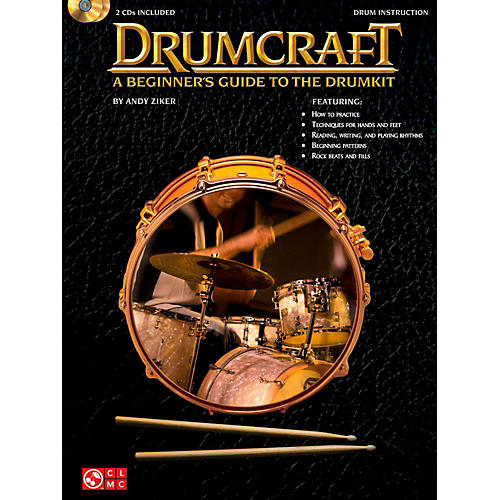 Cherry Lane Drumcraft - A Beginner's Guide To The Drumkit Book/2CD's