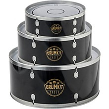 SK Drumkit Storage Tin Cases - Black
