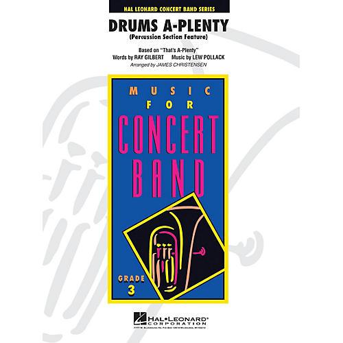 Hal Leonard Drums A Plenty - Young Concert Band Level 3 by James Christensen