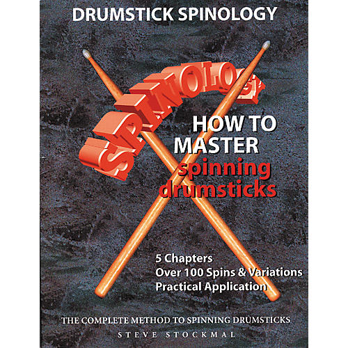 """SMG Drumstick Spinology """" How To Master Spinning Drumsticks (Book/DVD)"""