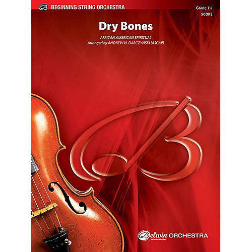 Alfred Dry Bones String Orchestra Grade 1.5 Set