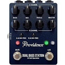 Open Box Providence Dual Bass Station/Bass Pre Effects Pedal