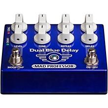 Open BoxMad Professor Dual Blue Delay Effects Pedal