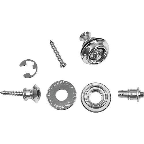 Dunlop Dual-Design Straplok System Nickel