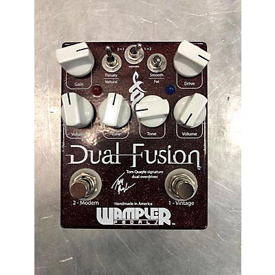 Wampler Dual Fusion Tom Quayle Signature Overdrive Effect Pedal