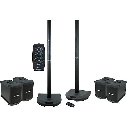 Bose Dual L1/PS1 and B1 Quad Bass Package