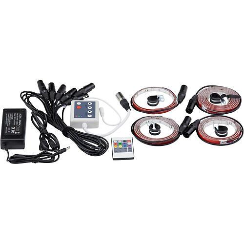 DrumLite Dual LED Banded Lighting Kit for 10/12/14/16/22 Drums