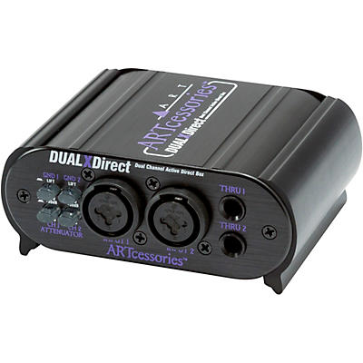 Yorkville DualXDirect Professional Active Direct Box