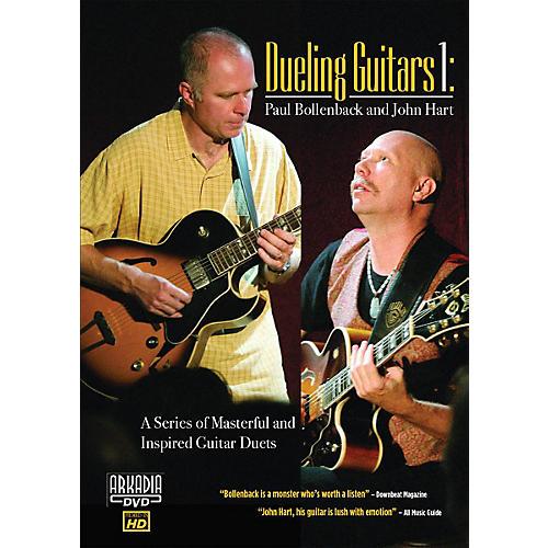Hal Leonard Dueling Guitars 1 - Paul Bollenback & John Hart DVD Series DVD Performed by Paul Bollenback