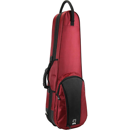 Kaces Duet Color Series Full Size Violin Polyfoam Case 4/4 Size Red