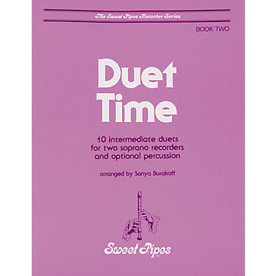 Sweet Pipes Duet Time Book 2