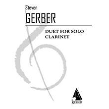 Lauren Keiser Music Publishing Duet for Solo Clarinet LKM Music Series