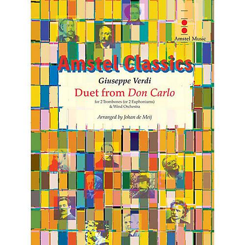 Amstel Music Duet from Don Carlo Concert Band Level 3 Arranged by Johan de Meij