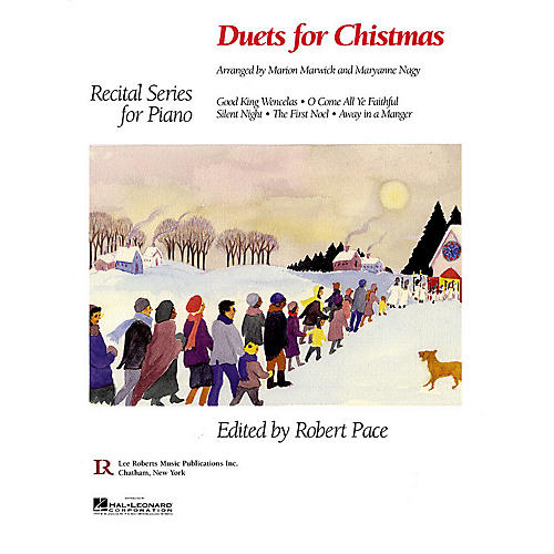 Lee Roberts Duets for Christmas Pace Piano Education Series