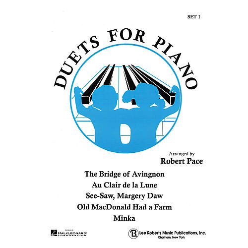 Lee Roberts Duets for Piano - Set I (Duets Blue (Book I)) Pace Piano Education Series