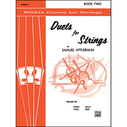 Alfred Duets for Strings Book II Viola