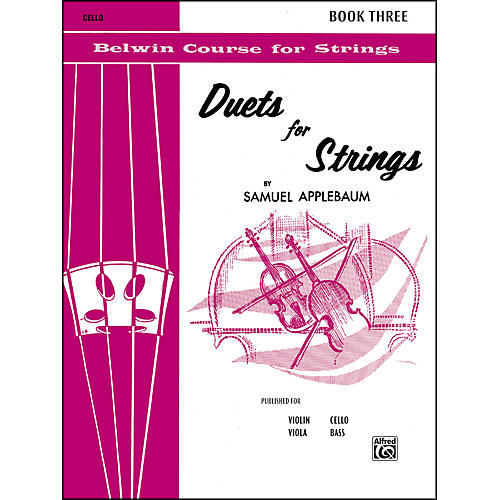 Alfred Duets for Strings Book III Cello