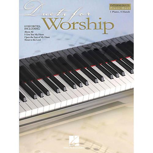 Hal Leonard Duets for Worship Intermediate Piano Duet 1 Piano, 4 Hands