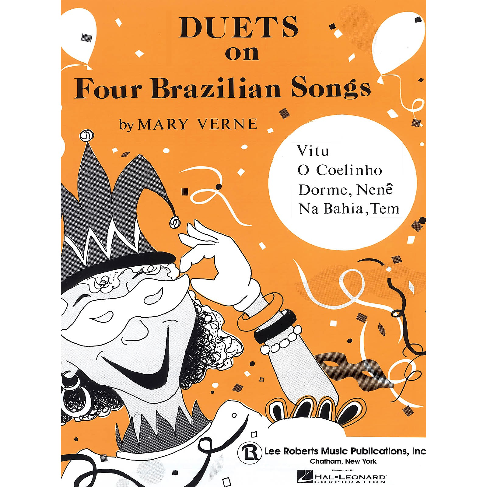 Lee Roberts Duets on Four Brazilian Songs Pace Duet Piano Education Series Composed by Mary Verne