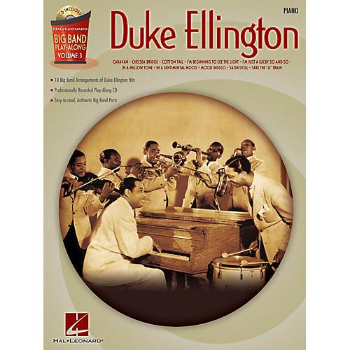 Hal Leonard Duke Ellington - Piano (Big Band Play-Along Volume 3) Big Band Play-Along Series Softcover with CD
