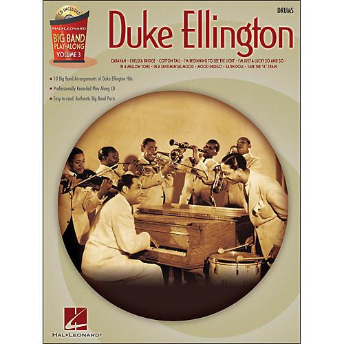 Hal Leonard Duke Ellington Big Band Play-Along Vol. 3 Drums