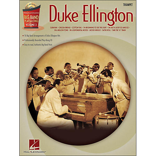 Hal Leonard Duke Ellington Big Band Play-Along Vol. 3 Trumpet