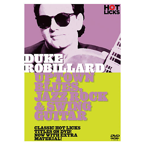 Music Sales Duke Robillard - Uptown Blues, Jazz Rock & Swing Guitar Music Sales America Series DVD by Duke Robillard