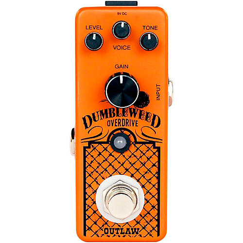 Outlaw Effects Dumbleweed Overdrive Effects Pedal