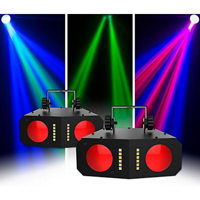 CHAUVET DJ Duo Moon LED Effect Light 2 Pack