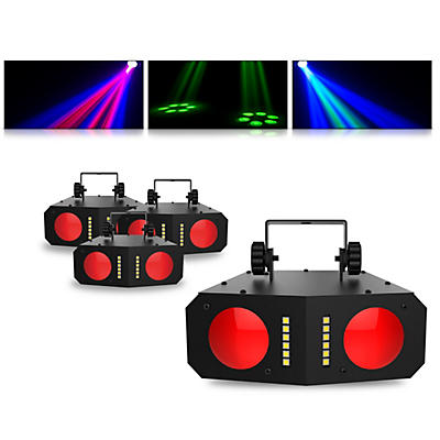 CHAUVET DJ Duo Moon LED Effect Light 4 Pack