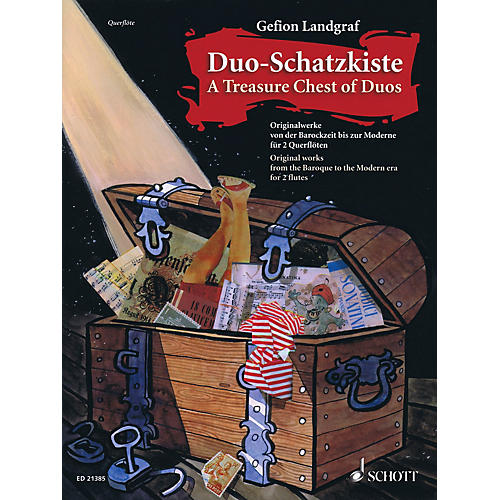 Schott Duo-Schatzkiste A Treasure Chest of Duos Woodwind Series Softcover Composed by Various